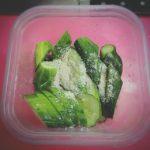 【レシピ覚書】簡単副菜!『きゅうりの浅漬け』できゅうり消費。