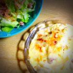 子供に大人気!簡単ポテトグラタン♪&お気に入りの北欧食器で苦手な料理も楽しく。