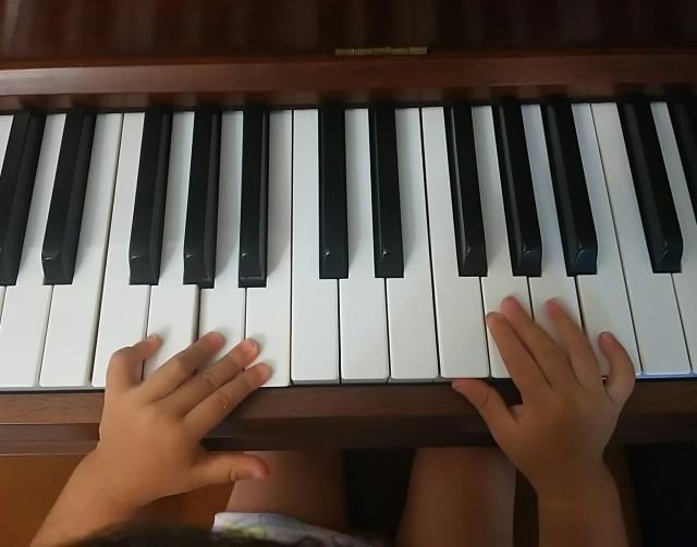 ピアノ・子供の習い事