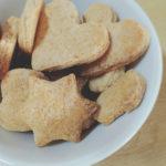 30分でできる、ホットケーキミックスとなたね油の簡単クッキー。