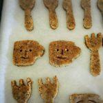 【なかしましほさん】のレシピで作るスマイルビスケット!体に優しいおやつレシピが大好き。