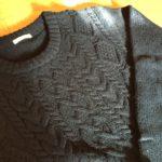 【GU】メンズのアランケーブルクルーネックセーターが可愛すぎる!メンズ服をゆるく着る【2017】
